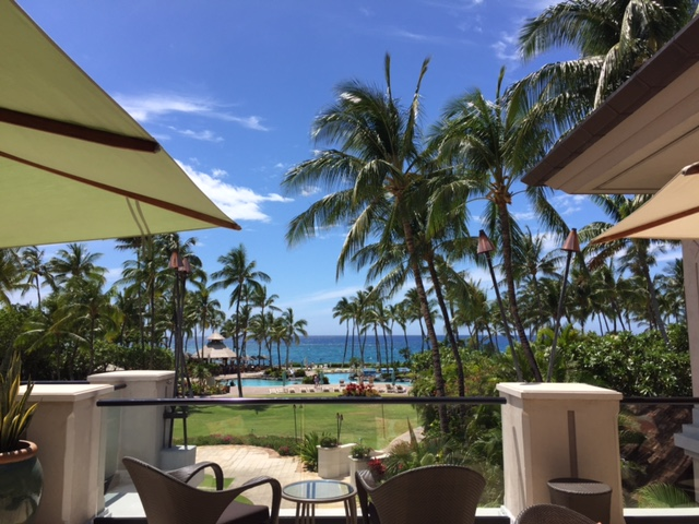 View of our Hawaiian vacation, which we got with miles. Keep your miles from expiring with our simple tactics.