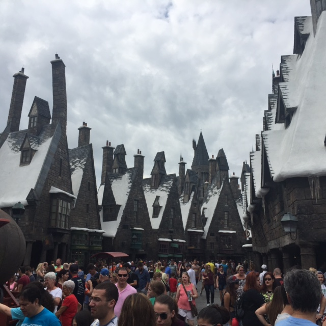Hogsmease Village at the Wizarding World of Harry Potter at Universal Studios