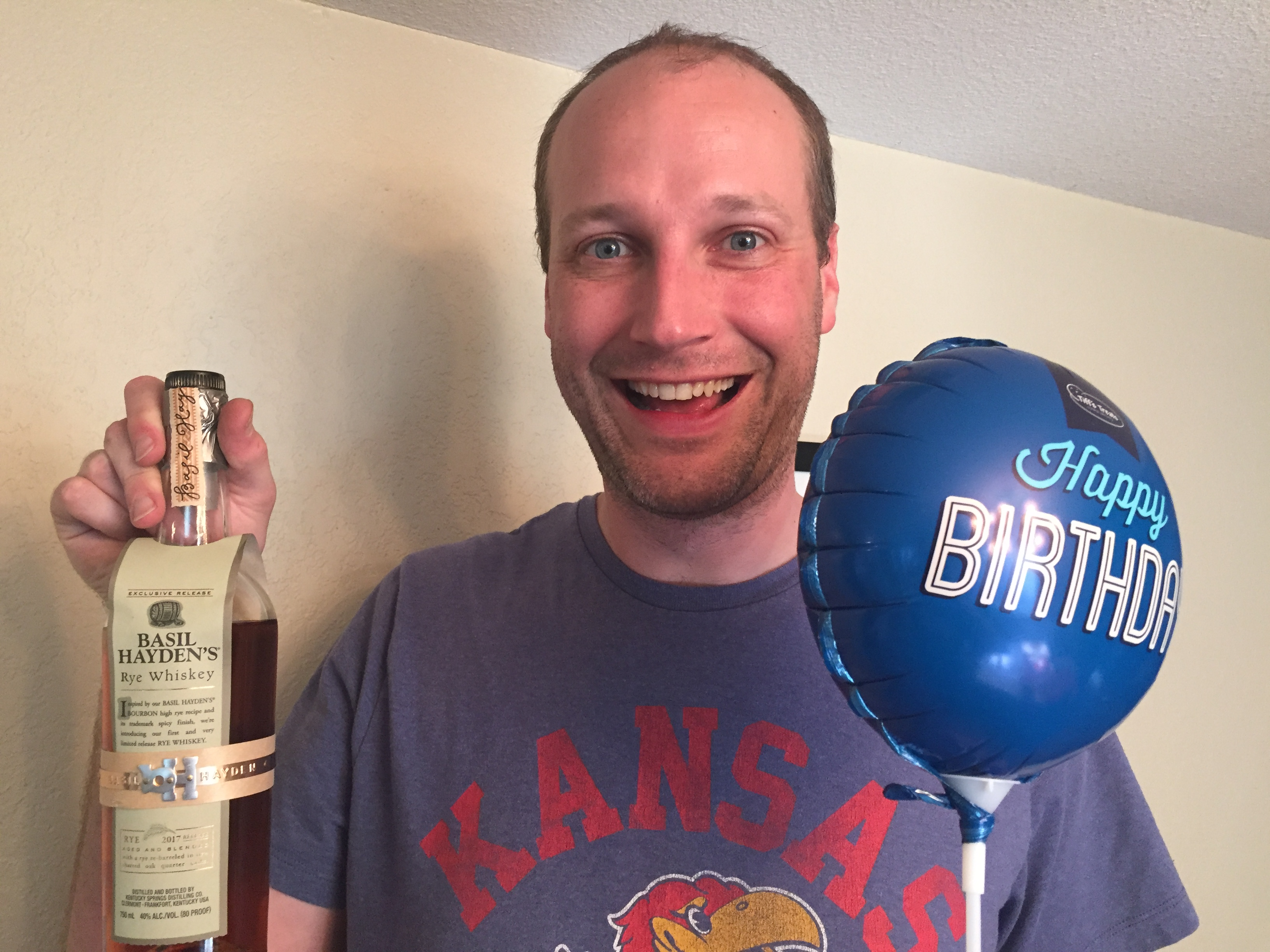 A Very Happy Birthday Boy Celebrates His 35th With Gifts Delivered All Day Via On