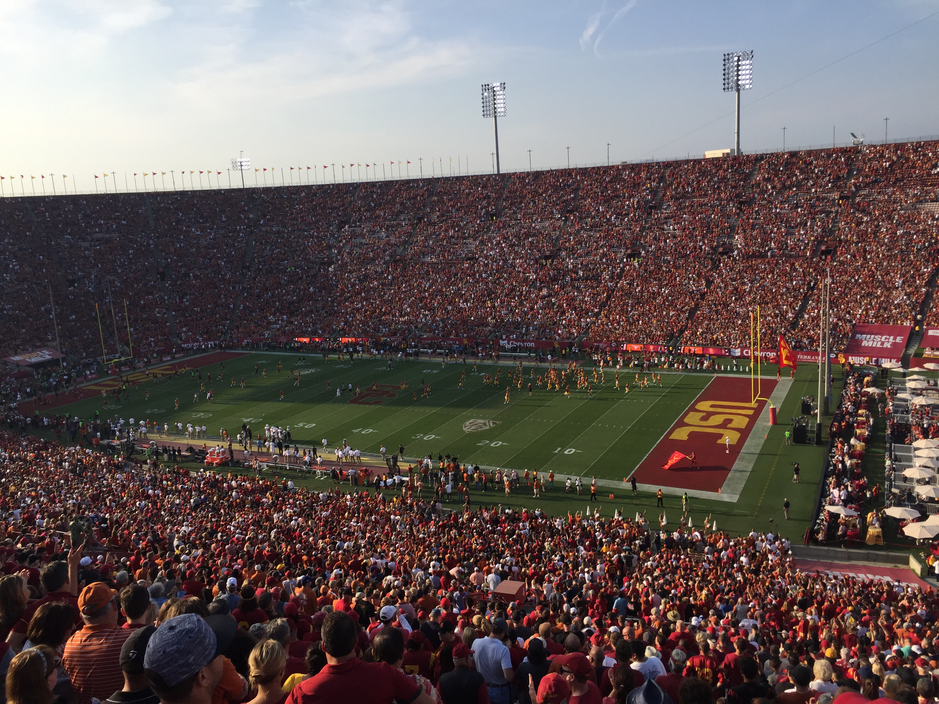 A weekend getaway in Los Angeles, including the USC vs. UT Game