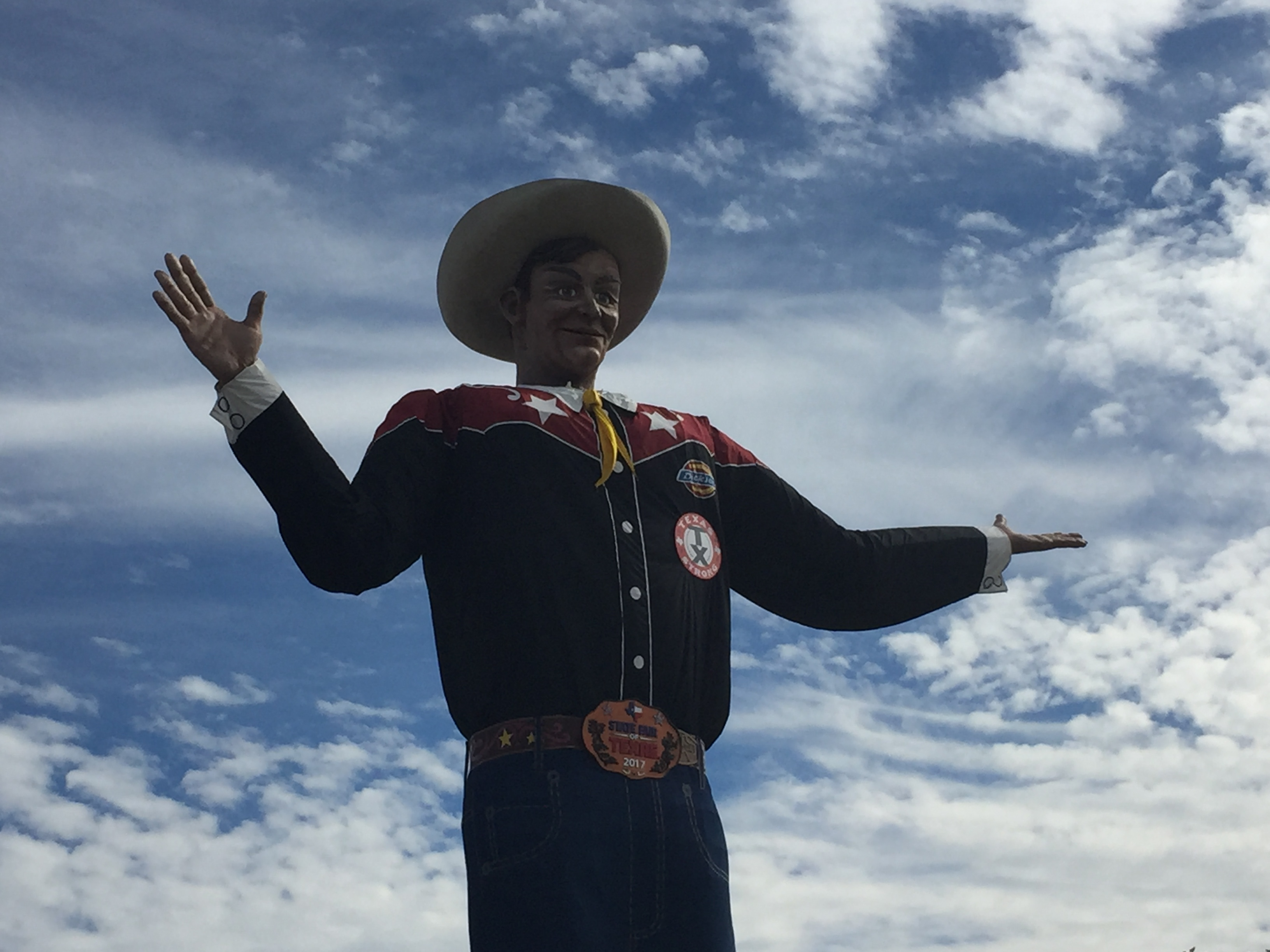 Big Tex at the State Fair of Texas 2017