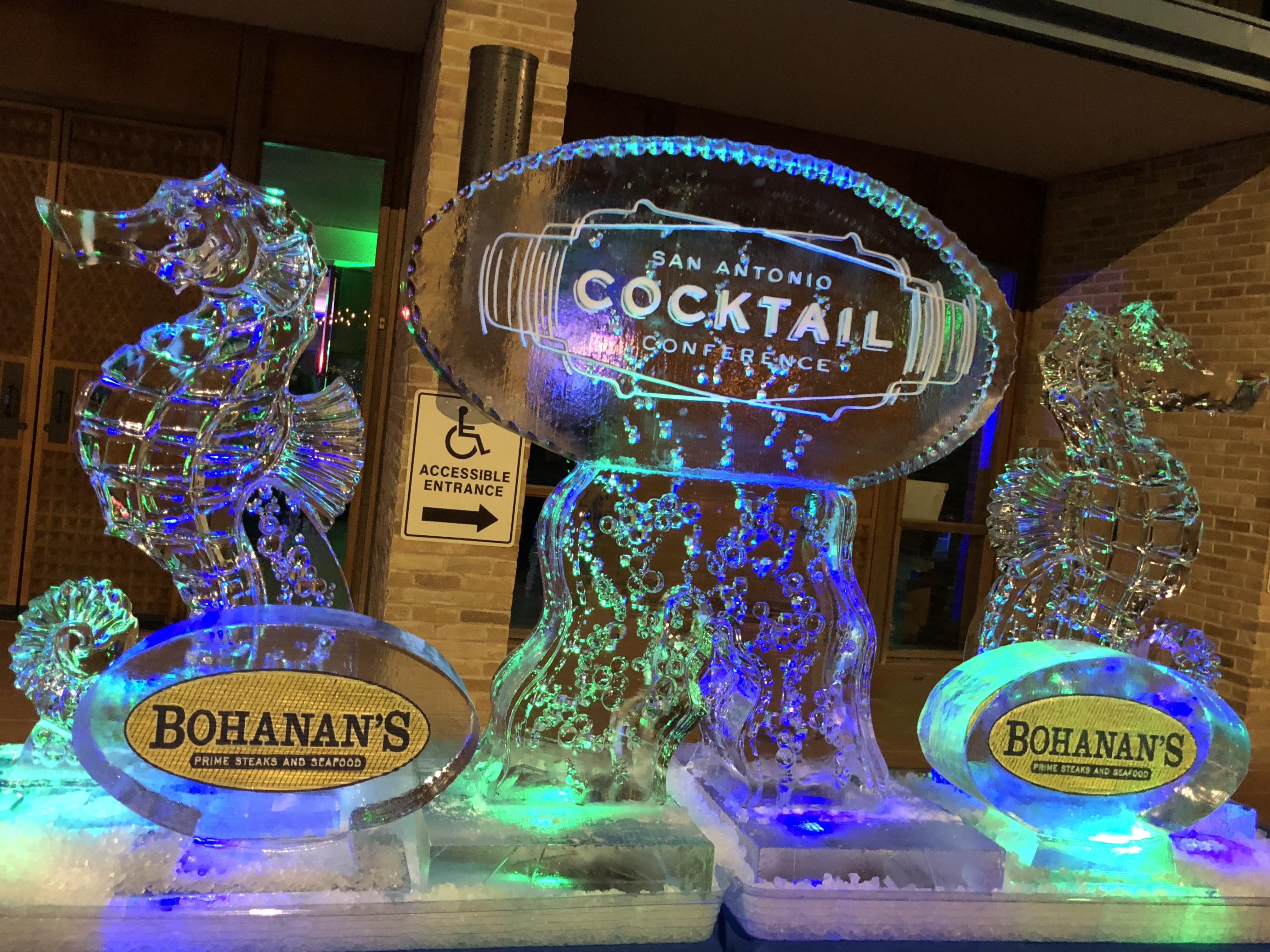 On the San Antonio Riverwalk, the San Antonio Cocktail Conference happens every January.